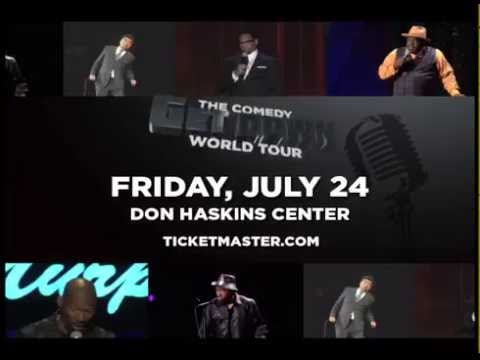 The Comedy Get Down PREVIEW July 24 - Don Haskins Center
