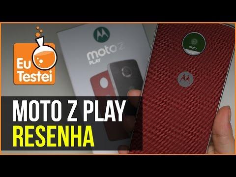 Moto Z Play: super bateria e um bom custo benefício - Vídeo Resenha EuTestei Brasil