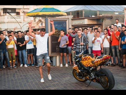 رامي صلد   في راس البر يعمل شو يبهر الناس