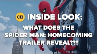 What Does the Spider Man: Homecoming Trailer Reveal?
