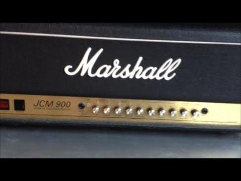 Marshall JCM 900 100 watt tube guitar amp head 4100 review
