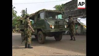 LIBERIA: MONROVIA: HORRIFIC SCENES AS FIGHTING FLARES UP AGAIN