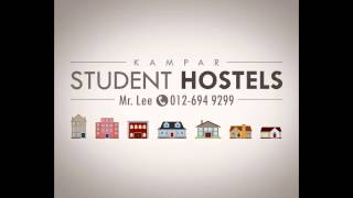 KTAR Student Hostels Whole House for Rent in Kampar Perak Malaysia