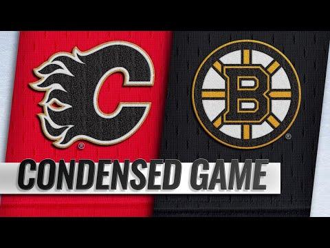 01/03/19 Condensed Game: Flames @ Bruins