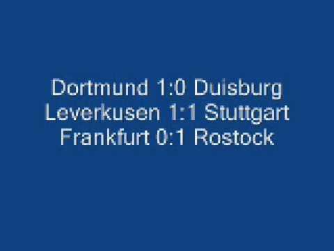 38. Spieltag 1992 - Bundesliga Schlusskonferenz (Teil 1)