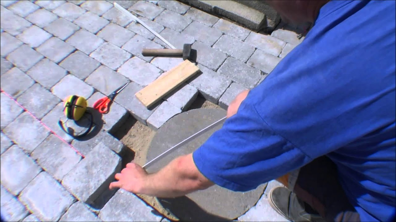 Cutting A Perfect Curve In Concrete Pavement 073 You