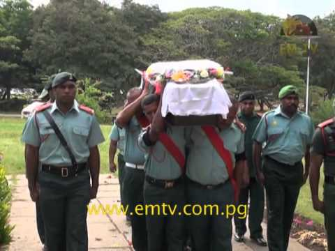 Death of PNGDF