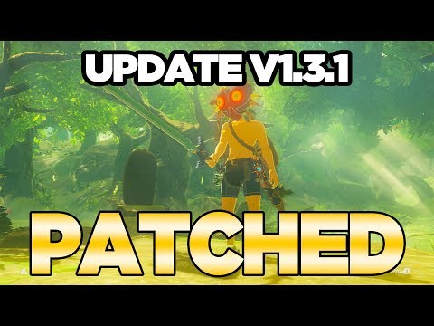 Zelda Breath of the Wild Update 1.3.1 - Trial of the Sword is *PATCHED* | Austin John Plays