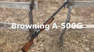 12 Gauge Browning A-500G Review