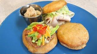 Scones - Steak House Style Fry Bread - PoorMansGourmet