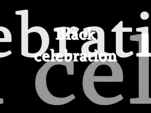 Depeche Mode - Black Celebration / Lyrics
