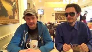 В кафе с Ваномасом, Сергеем Симоновым и Вованом Japan