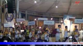 "Medjugorje, Youth Festival 2010, song: ""Ave Maria gratia plena"""
