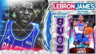 *GLITCHED* PINK DIAMOND LEBRON JAMES GAMEPLAY! THE BEST POINT GUARD IN NBA 2k20 MyTEAM