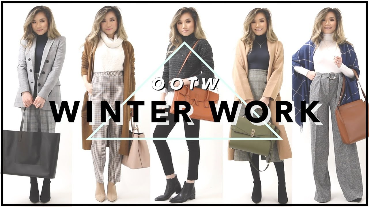 44d04e18f2 WINTER WORK OUTFITS of the Week OOTW