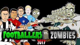 💀FOOTBALLERS vs ZOMBIES 2017💀 Halloween Special (Hazard, Coutinho, De Bruyne, Ronaldo, Messi Parody)