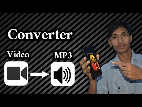 Convert any Video to MP3 Audio on mobile . Explained in Telugu || #videotomp3