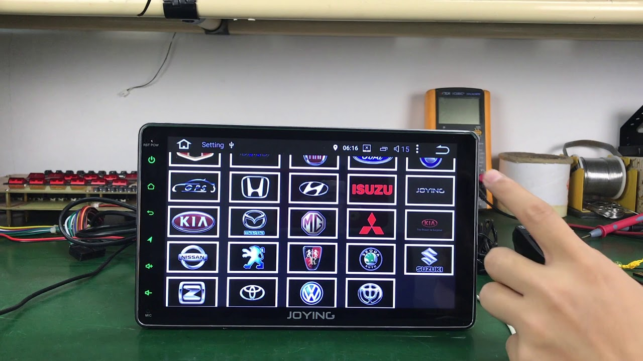 9` 4GB Android Head Unit 8 core Car Stereo Support Android Auto by Boy ka