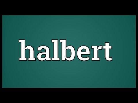 Header of halbert