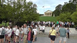 Arlington: Grabstätte der Kennedys. Arlington - the burial place of the Kennedys - near Washington