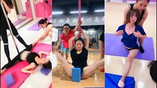 Flexibility stretching Three women make a drama so what is a group of women