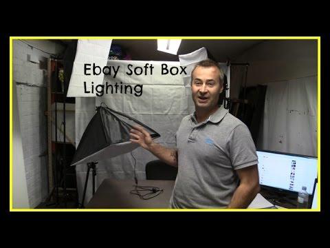 sc 1 st  YouTube & Setting up my Ebay Soft Box Lighting and Backdrop. - YouTube azcodes.com
