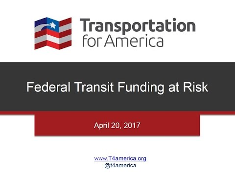 ACCE Webinar: Federal Transit Funding at Risk