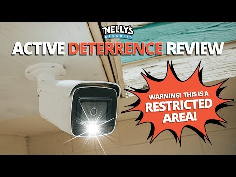 Active Deterrence Security Camera Review (MOTION DETECTION ON STEROIDS)