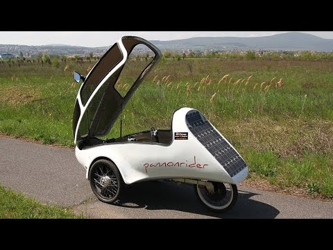 Pannonrider Fully enclosed Solar velomobiles