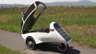 Pannonrider Fully enclosed Solar velomobiles