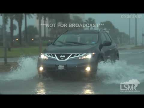 12-5-16 Pensacola Beach, FL Street Flooding