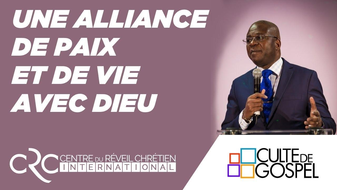 """""""Une alliance de paix et de vie avec Dieu"""" par le pst. D. Goma"""