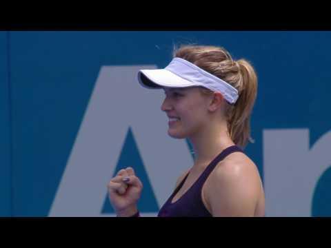 Bouchard v Zhang Match Highlights (R1) | Apia International Sydney 2017