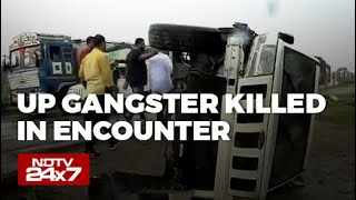 Gangster Vikas Dubey Killed, Was Trying To Escape After Accident: Cops