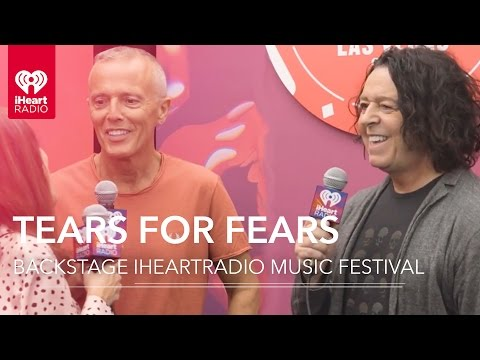 Tears For Fears Backstage at iHeartRadio Music Festival 2016!