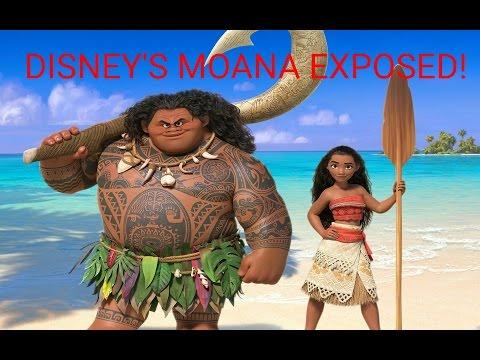 DISNEYS MOANA AND MAUI THE DEMIGOD EXPOSED, PLUS ILLUMINATI TOY IDOLATRY!