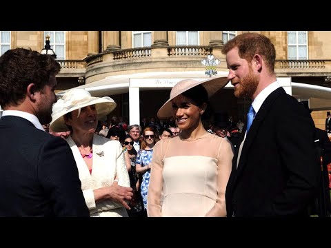 Meghan Markle and Prince Harry Attend First Engagement as Married Couple