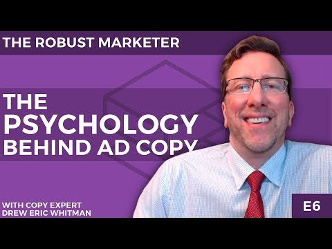 Get A Higher Response Rate On Your Ads | The Psychology Behind Ad Copy | The Robust Marketer E6
