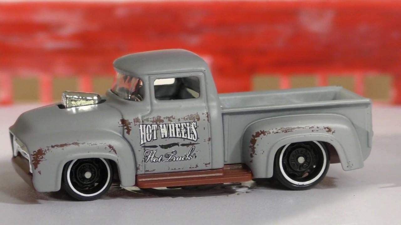 2017 Hot Wheels E Case 108 Custom 56 Ford Truck Youtube