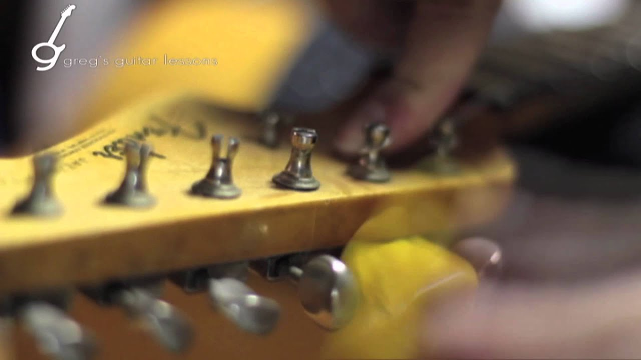 More Lessons On How To Make Change >> THE BEST Method on How to Change Guitar Strings: Fender Vintage Style Klusen Tuners - YouTube