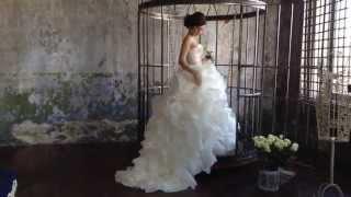 Свадебное платье для шоу-рума Юлии Домбровской