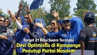 Optimistis di Kampanye Penutup Partai Nasdem