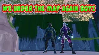 How To Get Under The Map In Fortnite Battle Royale V7.30