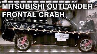 2014 Mitsubishi Outlander | Frontal Crash Test | CrashNet1