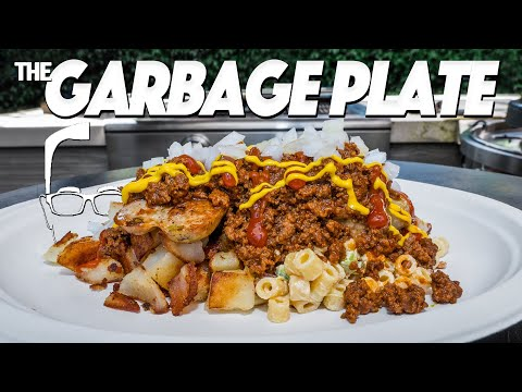 THE LEGENDARY GARBAGE PLATE AT HOME! | SAM THE COOKING GUY