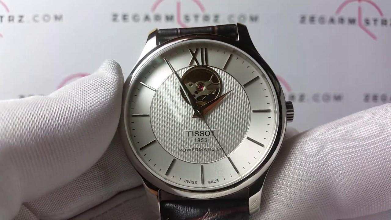 Tissot 038 16 Zegarek 907 Tradition Automatic 00t0639071603800 T063 A54jq3LR