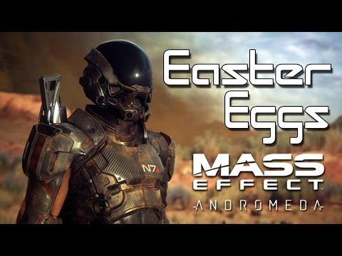 Los MEJORES SECRETOS en los VIDEOJUEGOS: Mass Effect Andromeda