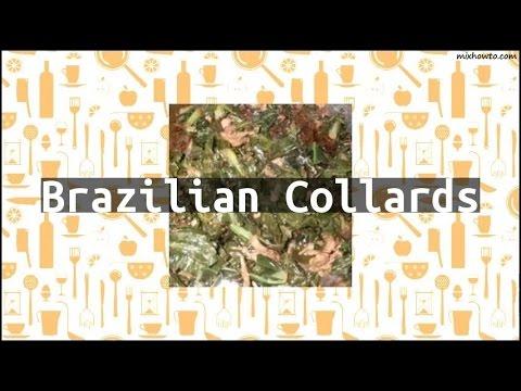 Recipe Brazilian Collards