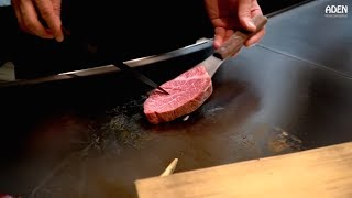 Kobe Beef Tenderloin Steak - in Kobe City, Japan
