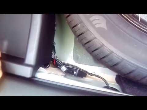 Установка парктроника на шевроле круз седан своими руками